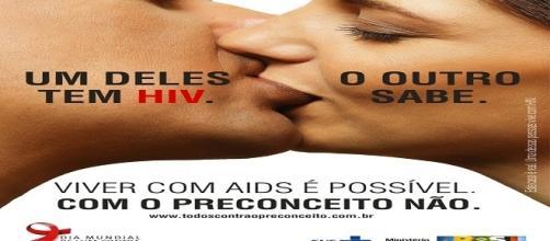 conscientização para combater e prevenir jovens contra a AIDS