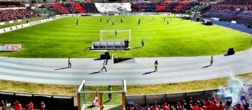 Lo stadio Marulla di Cosenza, l'evento