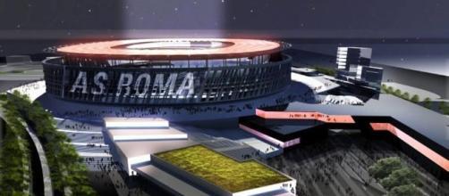 """Roma, svelato il nuovo stadio. Pallotta: """"Incuterà timore agli ... - gazzetta.it"""