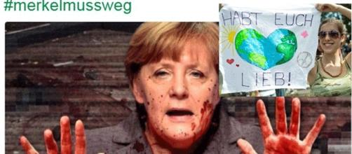 Si l'extrme-droite allemande impute la responsabilité des attentats à Angela Merkel, la société reste confiante.
