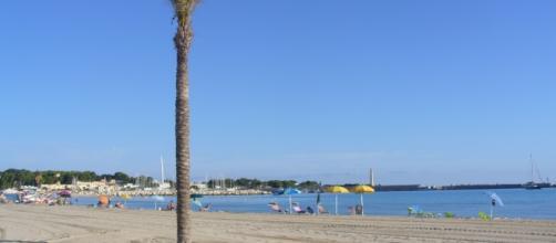 Spiaggia di San Vito Lo Capo - Sicilia.