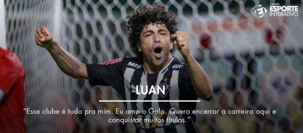 Luan, o Menino Maluquinho, declara amor ao Atlético