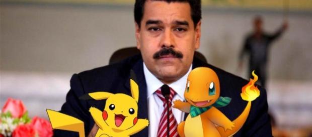 Nicolás Maduro critica o game 'Pokémon Go'