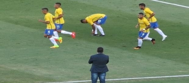 No Serra Dourada, Brasil derrota o Japão antes de estrear nas Olimpíadas