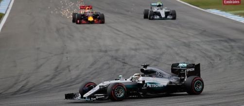 Hamilton vincitore ad Hockenheim
