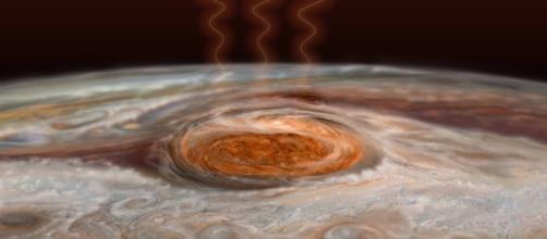 Jupiter's Great Red Spot Likely a Massive Heat Source - SpaceRef - spaceref.com