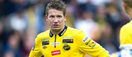 Marcus Rohden, centrocampista dell'Elfsborg.