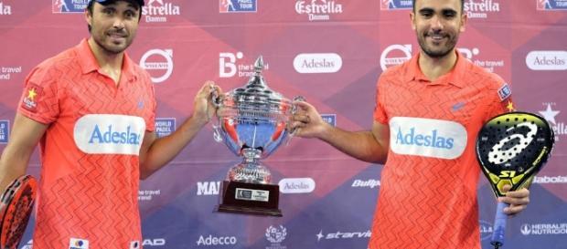 El argentino Fernando Belasteguín y el brasileño Pablo Lima se consagraron en el Abierto de Gran Canaria