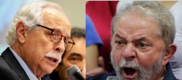 Jurista e Lula - Foto/Reprodução