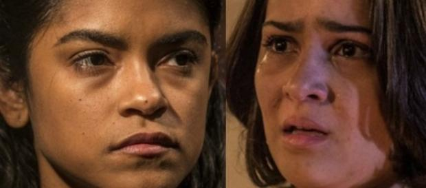 Não aguentando ver o sofrimento da filha, Luzia confessará verdade.