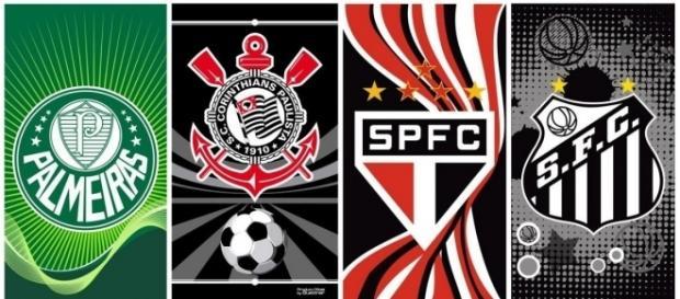 Santos, Corinthians e Palmeiras estão lá em cima. São Paulo está nono