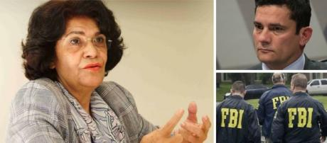 Suposta intelectual diz que juiz da Lava Jato é treinado pelo FBI e quer destruir a soberania brasileira