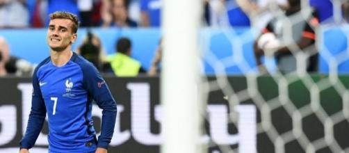 Antoine Griezmann durante el partido ante Portugal. Fuente: Marca