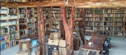 Biblioteca de Quintanalara, edificio El Potro