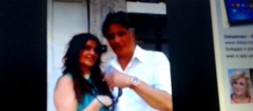 Giorgio Manetti con la fans di Brindisi Laura Marangon