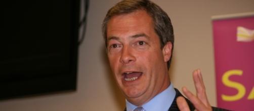 Il dimissionario leader dell'Ukip Nigel Farage
