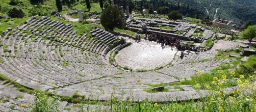 Théâtre antique de Delphes (Grèce)