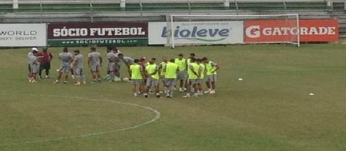 Treino do Fluminense (Foto: Arquivo)