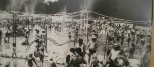 Un parque acuático en Kyoto diseñado por Noguchi en los años 60