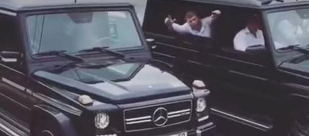 Absolvenții Academiei de spionaj din Rusia au deconspirat flota de autoturisme Mercedes a serviciului secret