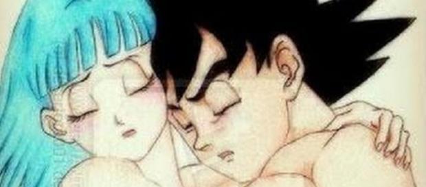 como fuese esta historia si Goku y Bulma