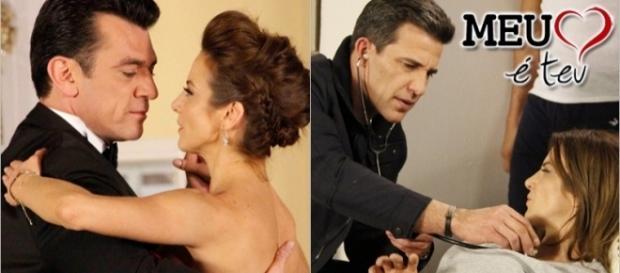 Fernando quer oficializar relação com Ana, mas Ángel vai se declarar para ela.
