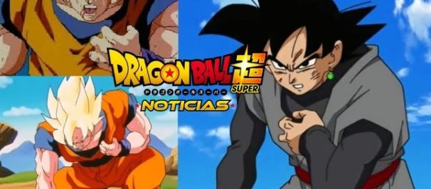 Goku enfermo del corazon y Black