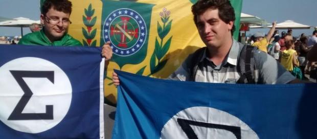 Integralistas em Manifestação no Centro do Rio de Janeiro