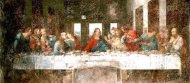 Leonardo Da Vinci's 'Last Supper' in decay Creative Image