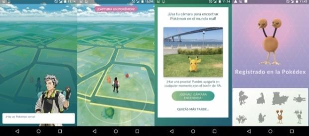 Primeras imágenes de Pokemon Go