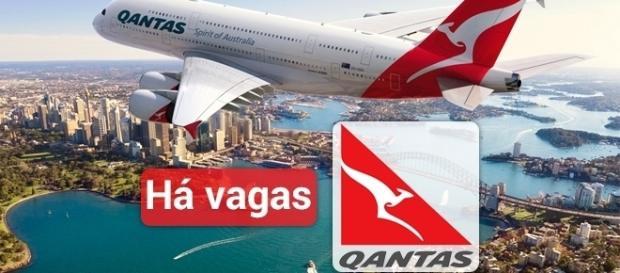Qantas está contratando na Austrália e na Nova Zelândia - Foto: Reprodução ERC