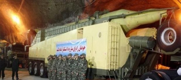 Rachete ale Iranului aflate în baze secrete