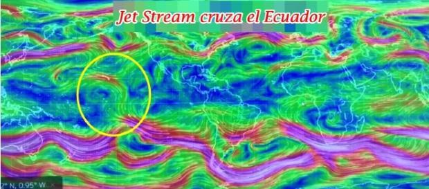 Si la distorsión en las corrientes en chorro se volviera una constante, podrían ocasionar grandes cambios climáticos
