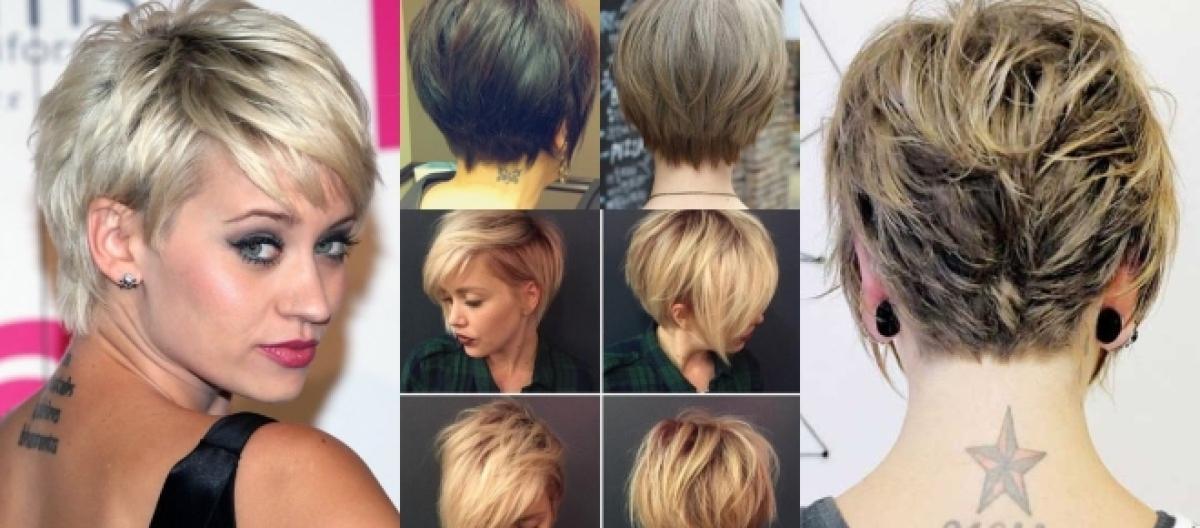 Immagini tagli capelli corti sbarazzini