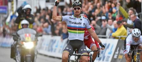 Peter Sagan, líder geral do Tour de France