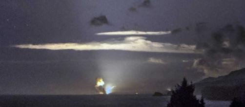 Il fotografo Scott Wight è riuscito a fotografare il momento del lancio del nuovo missile supersonico