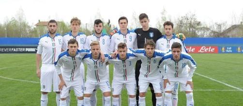 L'Italia Under 19. Foto pagina FB Figc.