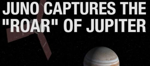NASA's Juno spacecraft captures roar of Jupiter as it nears the ... - spaceref.com