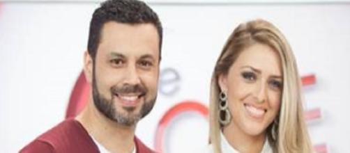 Renato e Cristiane Cardoso (Imagem/Rede Record)
