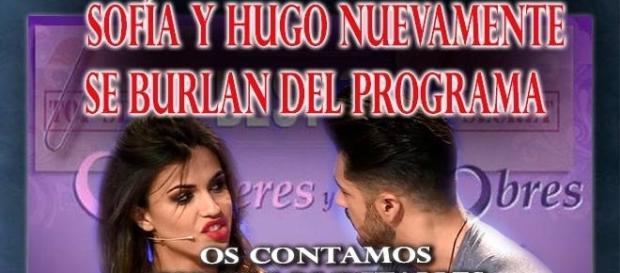Hugo y Sofía pillados de nuevo ¿será su fin en Myhyv?