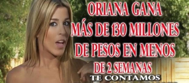 Las ganancias de Oriana Marzoli en Chile