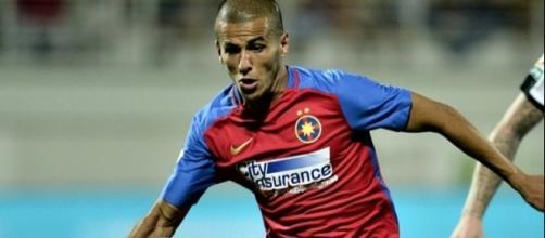 Aymed Tahar, centrocampista dello Steaua Bucarest.