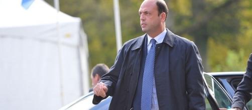 Il ministro dell'Interno, Angelino Alfano