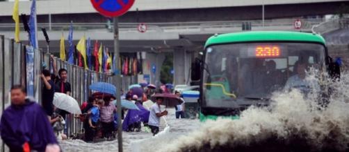 Las inundaciones en china son graves