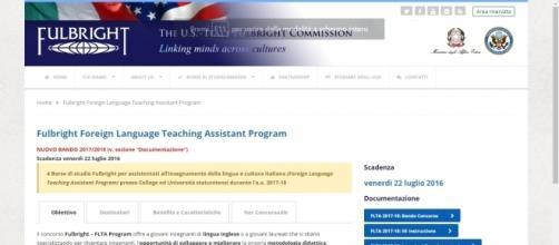 Programma per assistenti di italiano e inglese