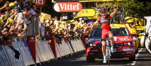 Triunfo y liderato para el belga Greg Van Avermaet en el Tour de France