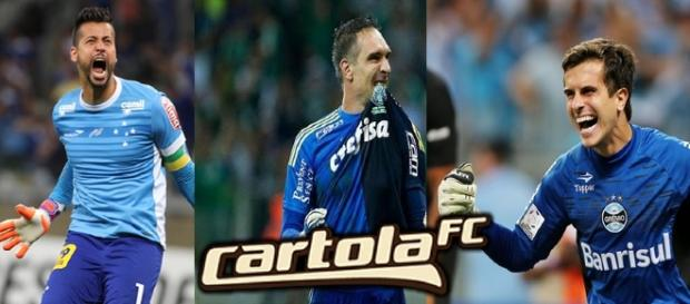 Dicas para goleiros do Cartola FC.