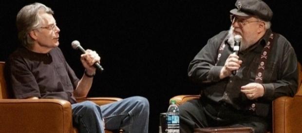 George R.R. Martin questiona Stephen King