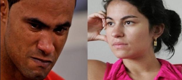 Goleiro Bruno e Eliza Samúdio - Foto/Montagem