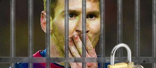 Lionel Messi trimis după gratii